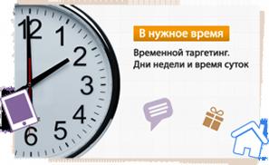 Временной таргетинг Яндекс Директ