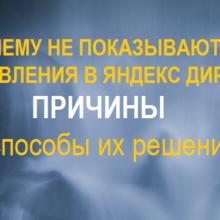 Почему не показываются объявления в Яндекс Директ. 7 частых причин и способы их решения!