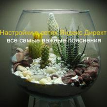 Настройки в сетях Яндекс Директ. Описание и важные подробности.